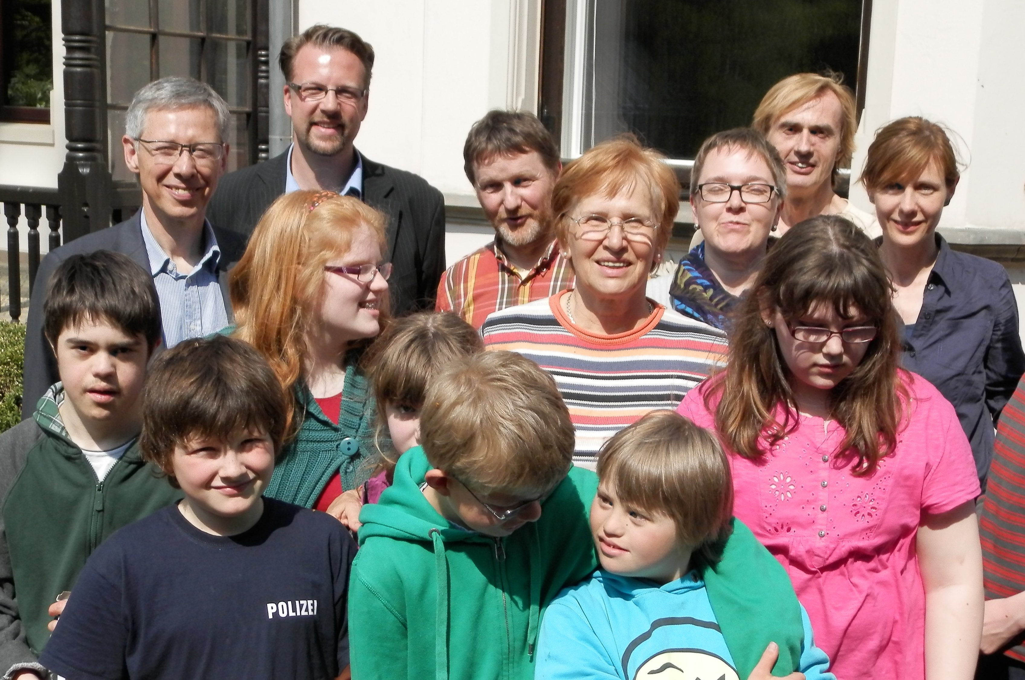 Gruppenbild Tobias-Schule